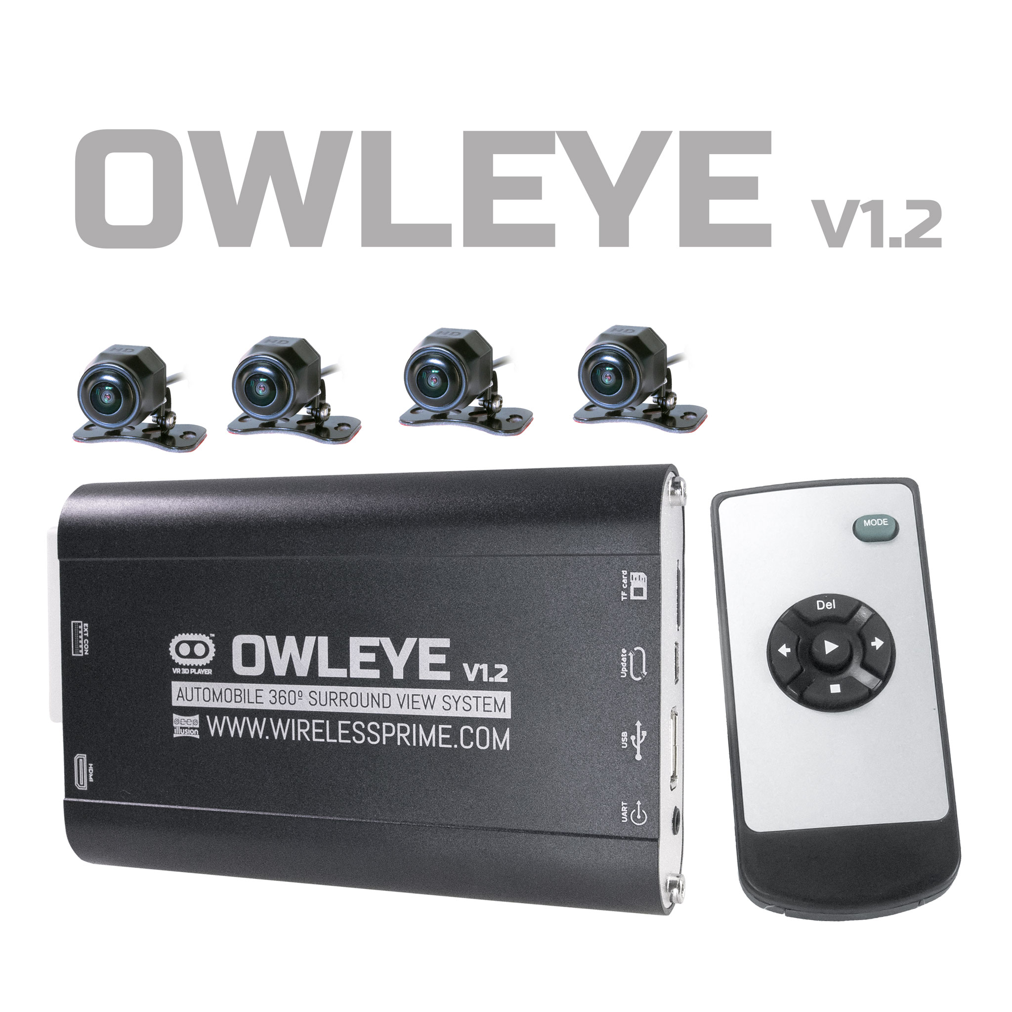 OWLEYE 360 Degree System